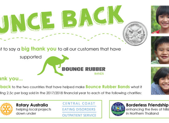 Bounce Back Social Responsibility program_Rubber Bands_