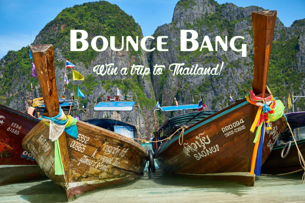 win a holiday to Thailand_rubber bands_